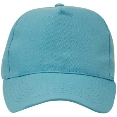 The COLOUR Superior 5 Panel is a polycotton peak cap. Features 5 structured panels, 4 row stitched sweatband, embroidered eyelets, and a pre curved peak. Self covered velcro strap