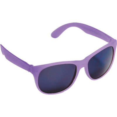 The Colour Changing Sunglasses That Fade From Purple To Transparent.