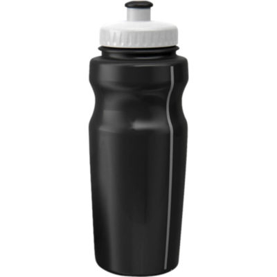 The BPA Free 500ml Sports Water Bottle in Black.