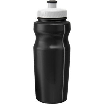 The BPA Free 500ml Sports Water Bottle in Black.