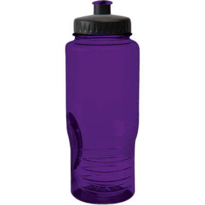 The 500ml Performance PET Water Bottle, BPA Free, In Purple