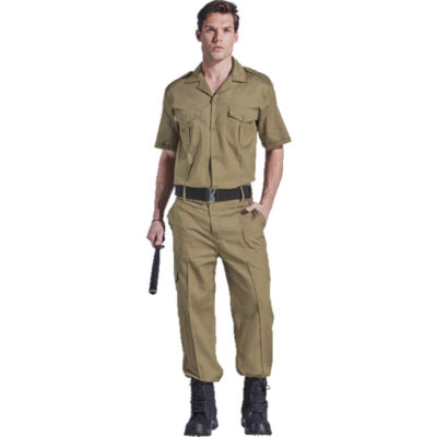 The Contract Combact Shirt in khaki display