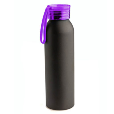 The Katana Matte Finish Bottle has a unique design that is sure to make it stand out in a crowd, aluminium, plastic and silicone are the materials that bring this item its sleek mattified design. Colour: Purple