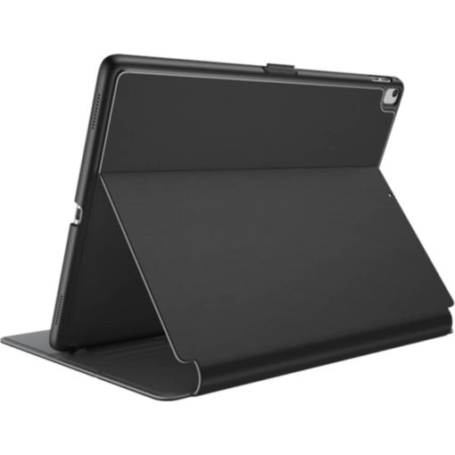 The Speck Balance Folio Case in the colour black-grey can hold a 9.7inch iPad, its UV resistant, hard shell to give you all round protection. Has a 1 year warranty.