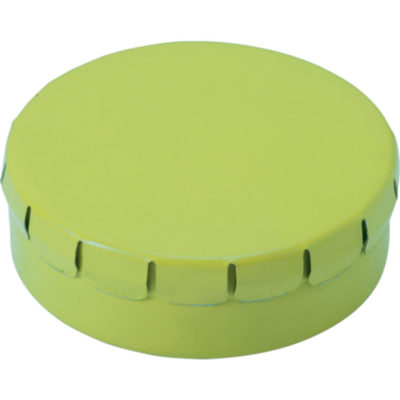 The Mints in Metal Tin Are Sugar Free And The Lid Of The Tin Is Clip To Close. Tin Colour: Light Green.