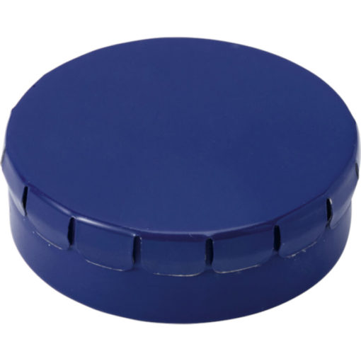 The Mints in Metal Tin Are Sugar Free And The Lid Of The Tin Is Clip To Close. Tin Colour: Cobalt Blue.