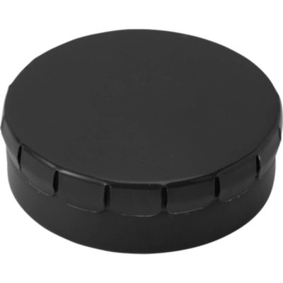 The Mints in Metal Tin Are Sugar Free And The Lid Of The Tin Is Clip To Close. Tin Colour: Black.