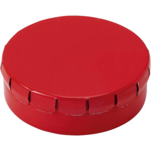 The Mints in Metal Tin Are Sugar Free And The Lid Of The Tin Is Clip To Close. Tin Colour: Red.