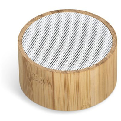 A Maitland Bluetooth Speaker Is Made From Bamboo And ABS Plastic