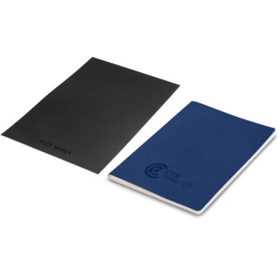 The Alex Varga C-Type Notebook is a navy vegan leather notebook with 104 100gsm paper. Packaged in a Alex Varga branded envelope case