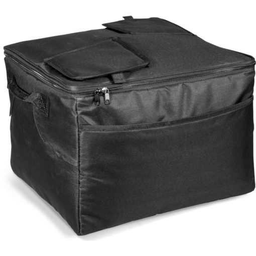 The Paradiso 72-Can Cooler is a large capacity cooler bag thats removable from the metal stand and can be used as an item on its own or with the stand