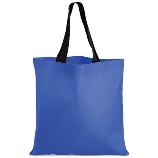 The Kira Tote bags is made from polyester material in the colour blue.
