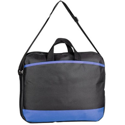 The Congress Conference Laptop Bag With Blue Detailing.