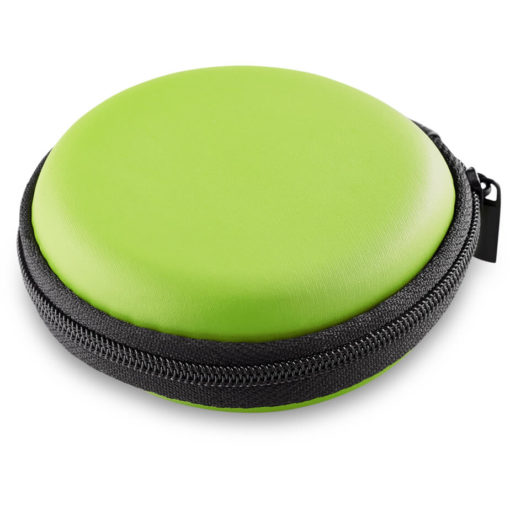 The Bryant Smart Watch In A Lime Green Zip Case.