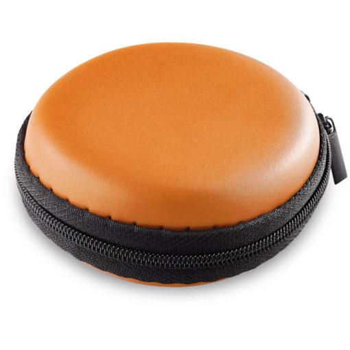 The Bryant Smart Watch In A Orange Zip Case.