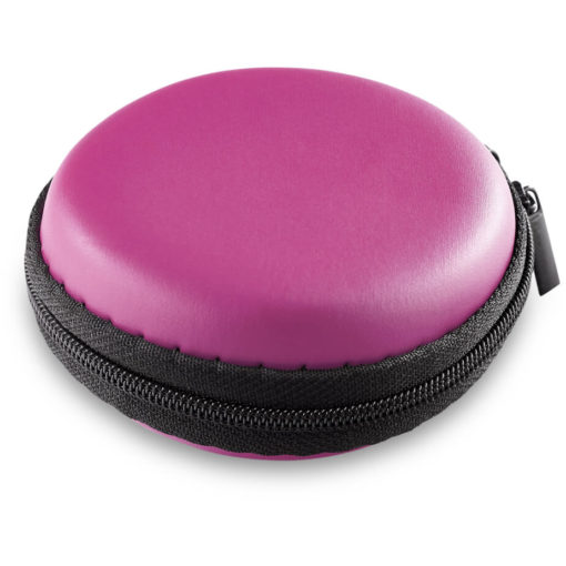 The Bryant Smart Watch In A Pink Zip Case.