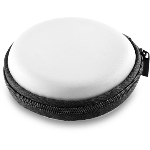 The Bryant Smart Watch In A Solid White Zip Case.
