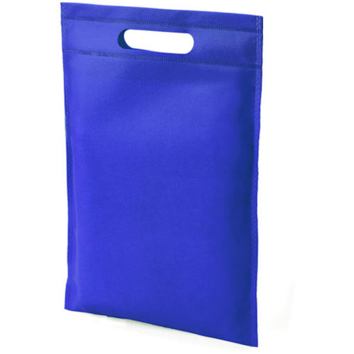 The Dayminder Mini Bag in the colour blue made from non woven material.