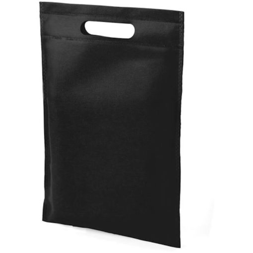 The Dayminder Mini Bag in the colour black made from non woven material.