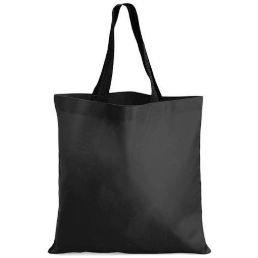 The Kira Tote bags is made from polyester material in the colour black.