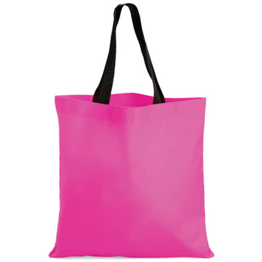 The Kira Tote bags is made from polyester material in the colour pink.