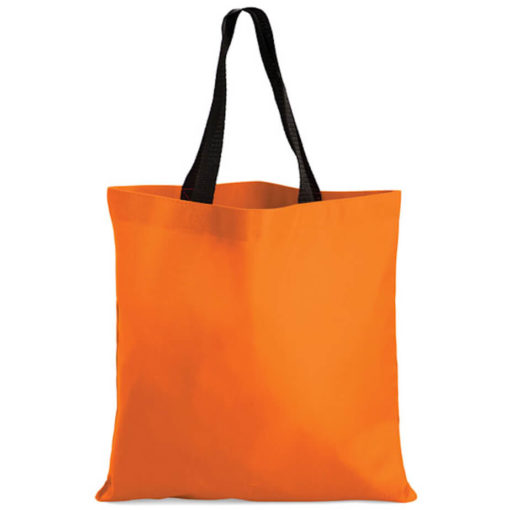 The Kira Tote bags is made from polyester material in the colour orange.