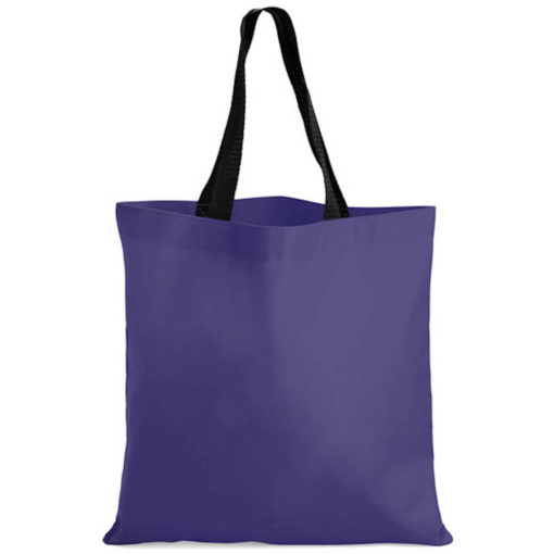 The Kira Tote bags is made from polyester material in the colour navy.