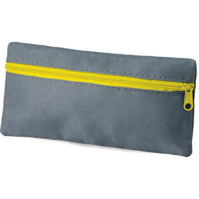 The Hover Pencil Case with a yellow zipped compartment.