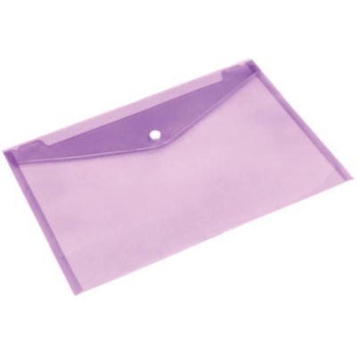 Purple transparent sleeve in A4 size.