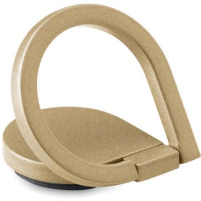 Gold drop rong phone cover semi circle open