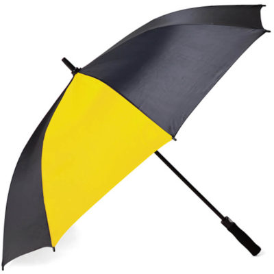 Classic Pop Up 2 Tone Umbrella only one panel is yellow