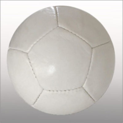 The 12 Panel Mini Soccer Ball is a poly cotton and rubber sports ball with a high air rention blasser. Available in plain white