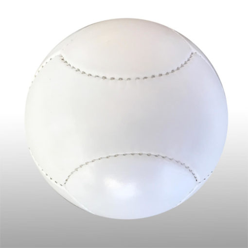 The 6 Panel Mini Soccer Ball is a poly cotton and rubber sports ball with a high air rention blasser. Available in plain white