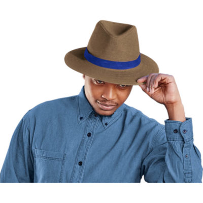 The Havana Hat - Separate Band is a polyester fabric band that fits perfectly around the havana hat to add a pop of colour to your headwear item