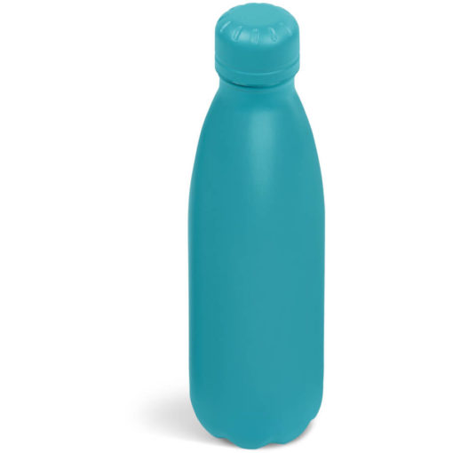 The Kooshty Wahoo Vacuum Water Bottle in a full turquoise colour.