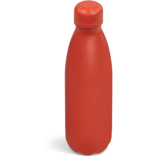 The Kooshty Wahoo Vacuum Water Bottle in a full red colour.