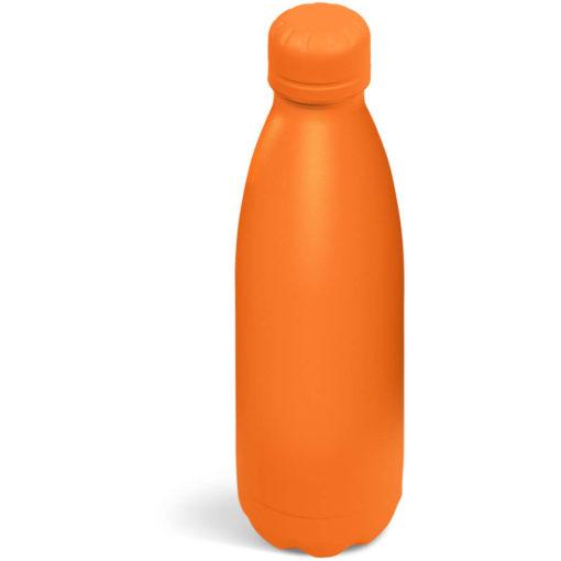 The Kooshty Wahoo Vacuum Water Bottle in a full orange colour.