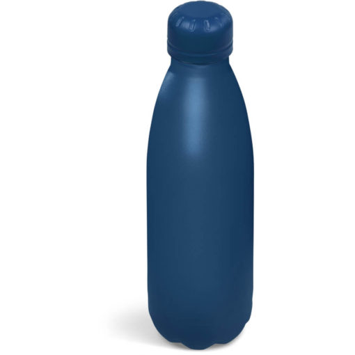 The Kooshty Wahoo Vacuum Water Bottle in a full navy colour.