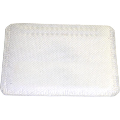 The Bodywallet In White Is A Rectangular Shaped Self-Adhesive Fleece Plaster Wallet That Attaches To Your Body.