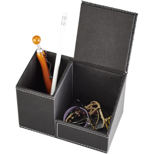 The Advantage Pen And Phone Holder has a hidden compartment for your smaller items.