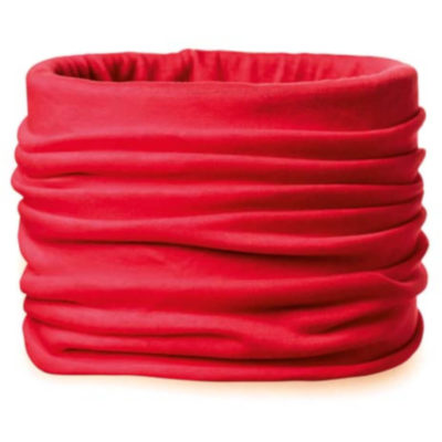 The Daria Bandana in the colour red, made from microfiber and can be used for anything and any occasion.