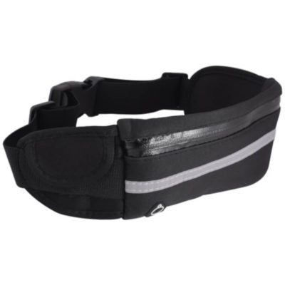 The Joggers Belt is made from neoprene material with a silver luminous strip.