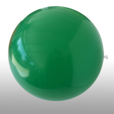 The 1.5m Beach Ball is a PVC solid green inflatable light weight beach ball. Large in size
