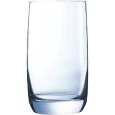 The C&S Vigna Hiball is a drinkware glass with a 200ml capacity made from glass with a thick base