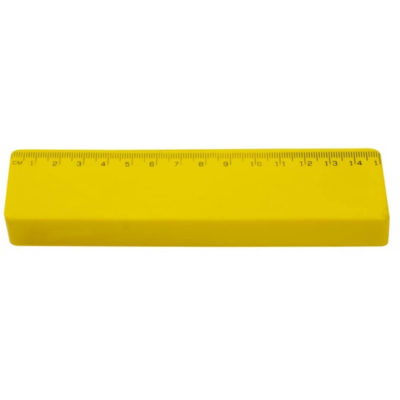 The Ruler Stressball made from PU foam material with measurement markings along the side.