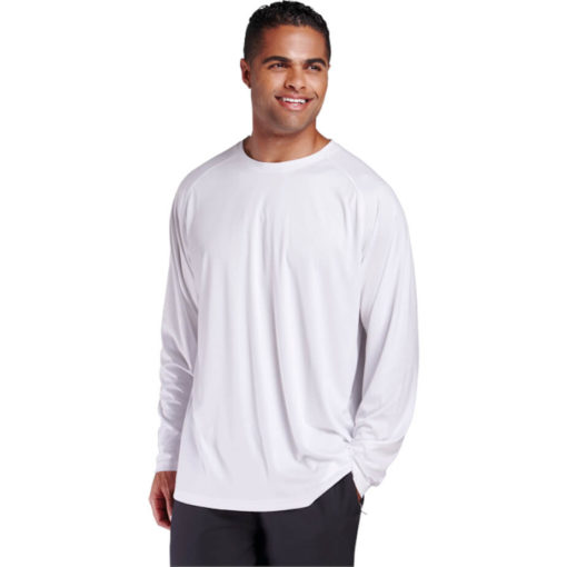 The 135g Long Sleeve Polyester T-Shirt is made from 100% polyester moisture management fabric which is light weight, available in bold colours and different sizes.