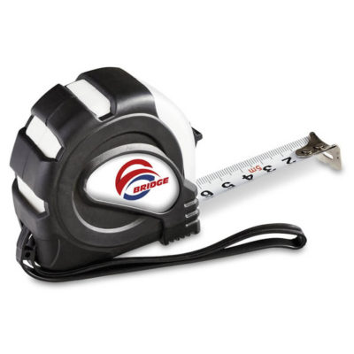 The Carpenters 5 Meter Tape Measure is made from ABS plastic.