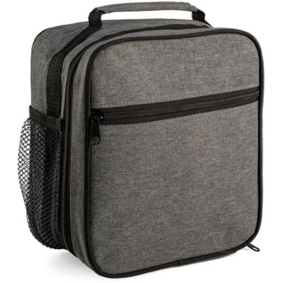 The Shift Cooler has a carry handle, a front zippered compartment, a side mesh pocket and a larger main compartment. The bag has a 2 toned colour and its made from 600 Denier material.