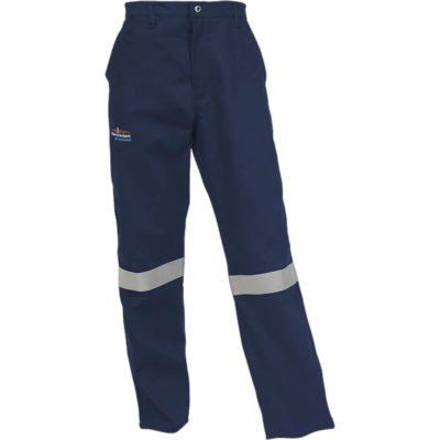 The Barron D59 Trousers is SABS approved with many pockets in a navy colour. Made from 300g 100% Cotton with acid and flame retardant finish