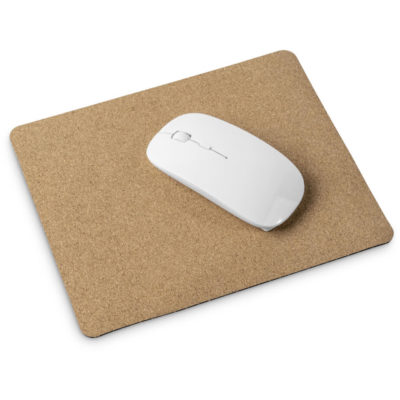 The Okiyo Wumu Cork Mouse Pad is biodegradable and eco-friendly product made from cork & rubber with a rectangular shape.